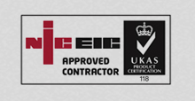 contact for electrical is an niceic approved contractor